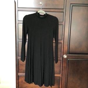 Black Isabella Oliver Maternity dress.